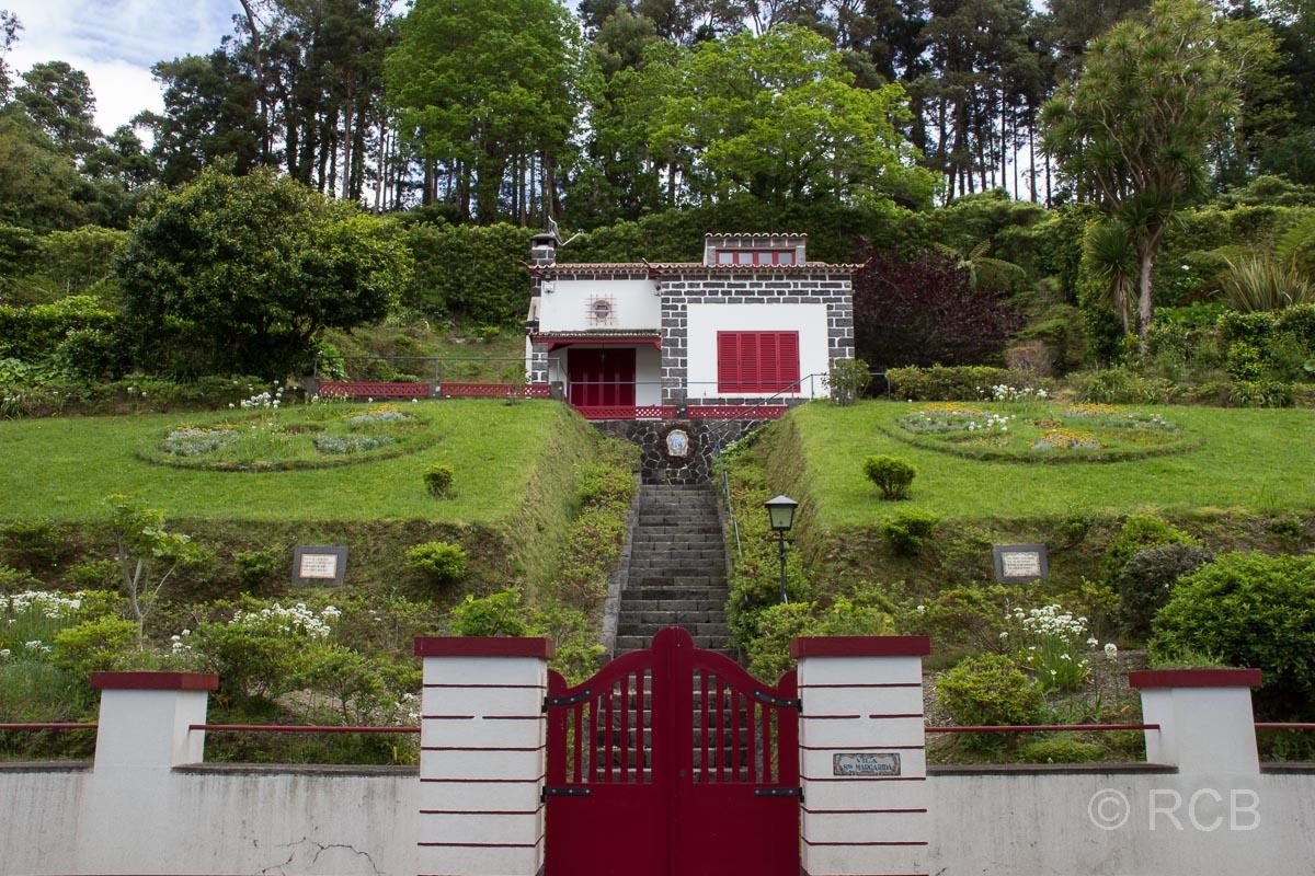 Haus im Grünen an der Lagoa das Furnas