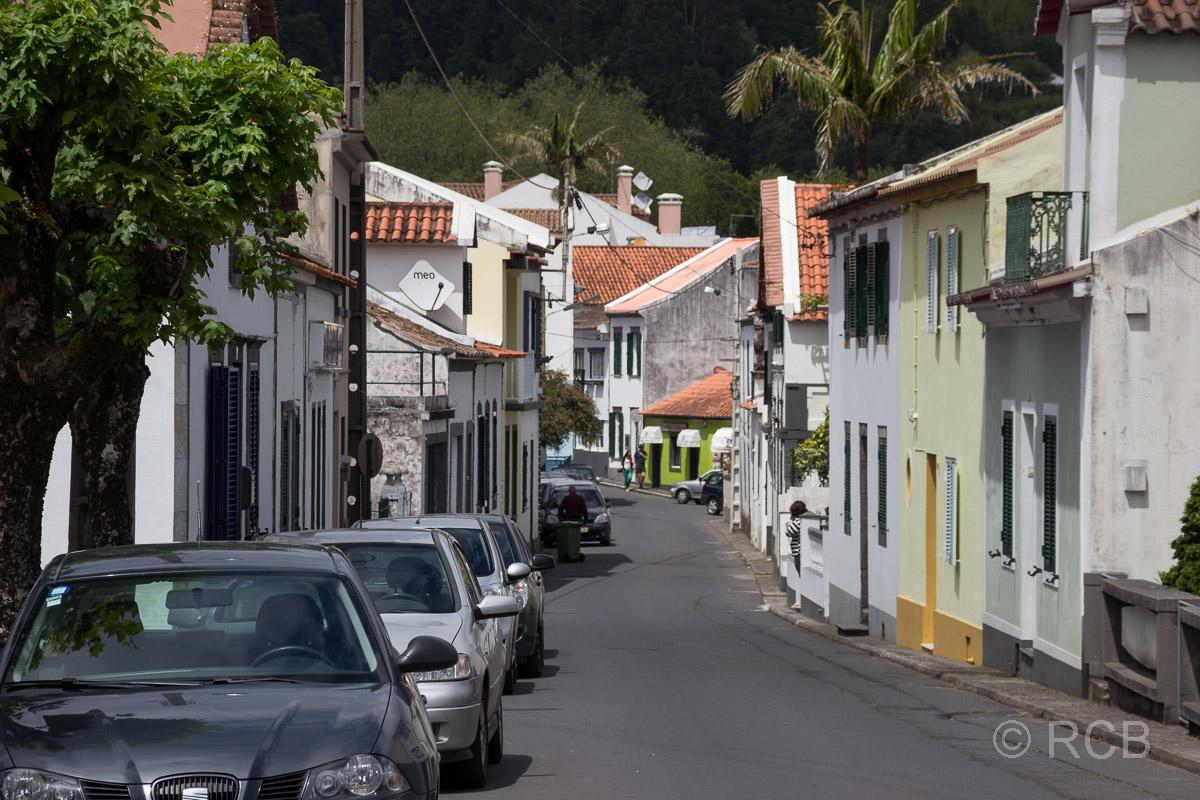 Straße in Furnas