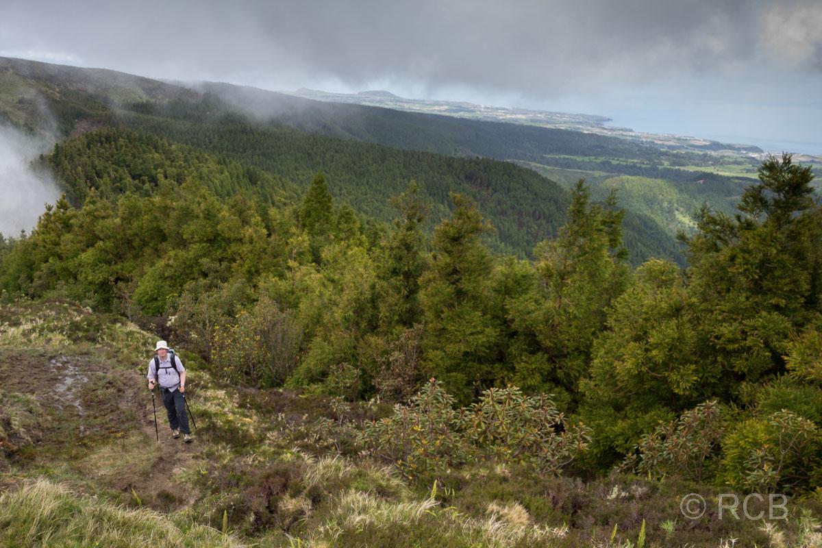 Blick zur Nordküste von São Miguel