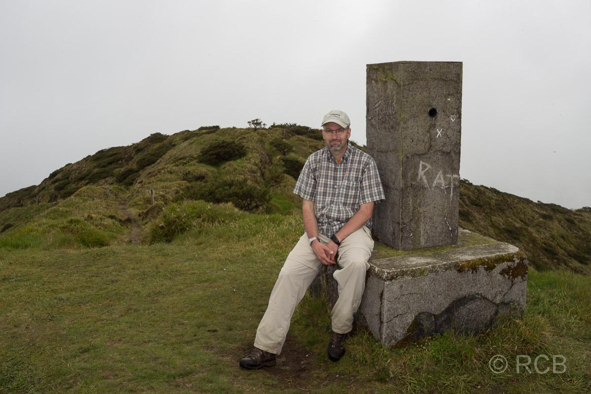 am Gipfel des Pico da Vara