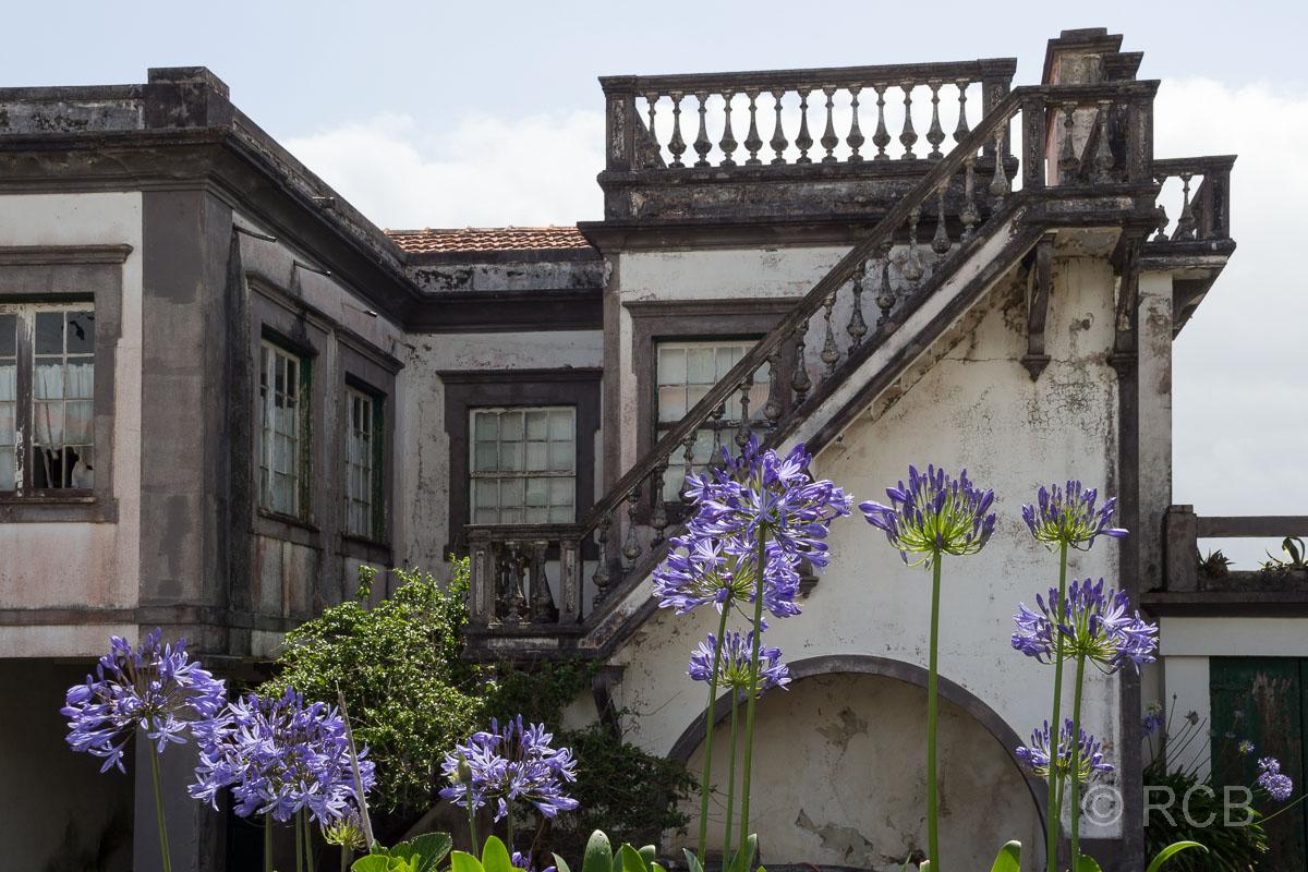 Santa Cruz, bröckelnde Häuserfassade