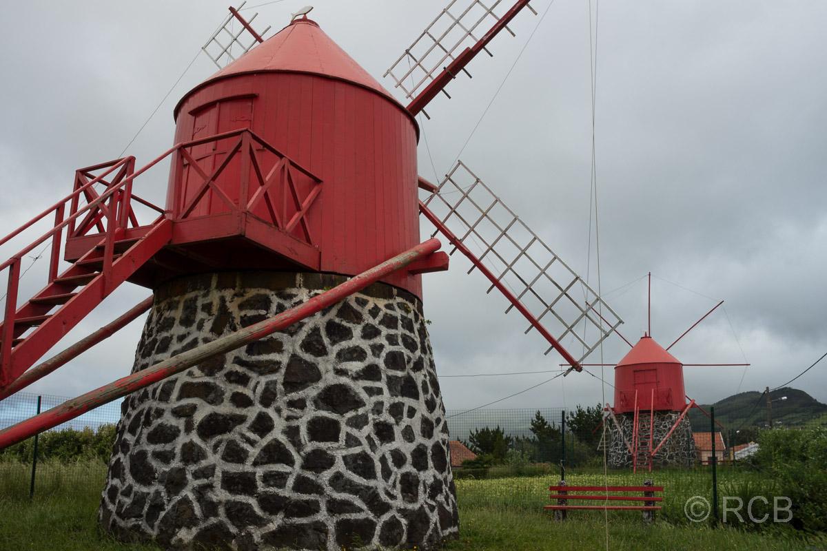 Windmühlen auf Faial
