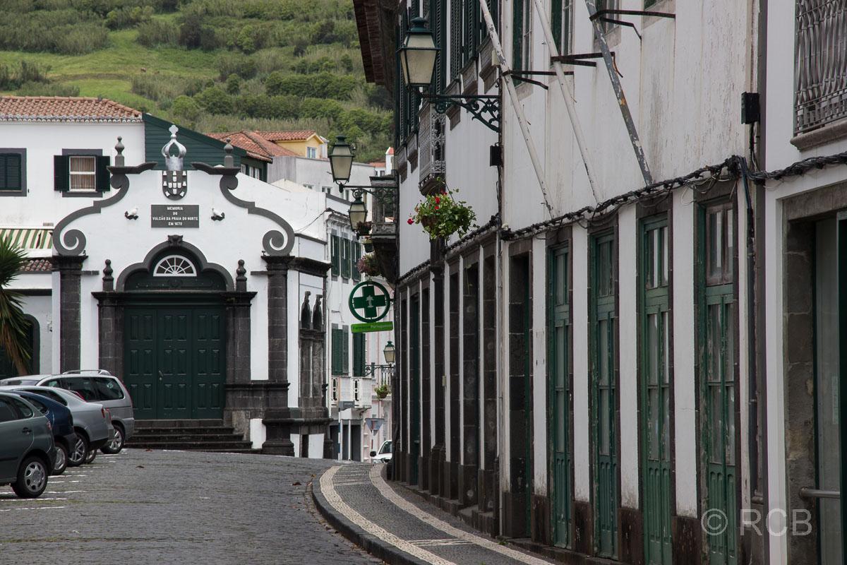 Horta, Straßenszene