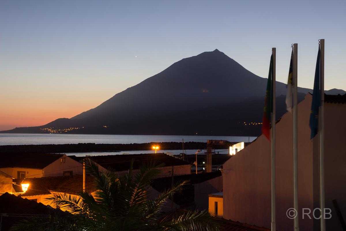abendlicher Blick auf den Pico