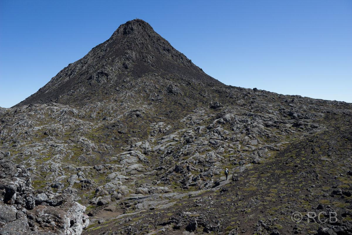 der eigentliche Gipfel, der Pico Pequenho