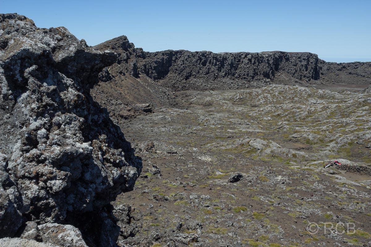 Blick auf die Caldera des Pico