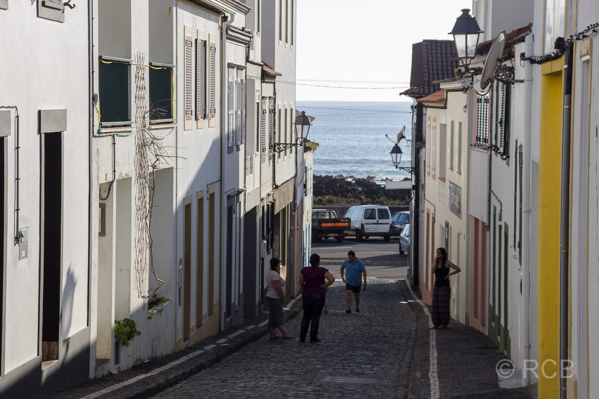 Gasse in Lajes