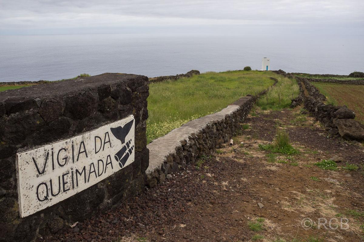 Weg zum Walausguck von Queimada bei Lajes