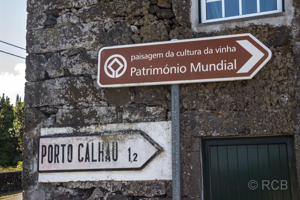 UNESCO-Welterbe Weinbaulandschaft auf Pico