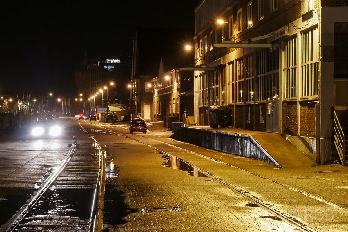 Alter Hafen, Cuxhaven bei Nacht
