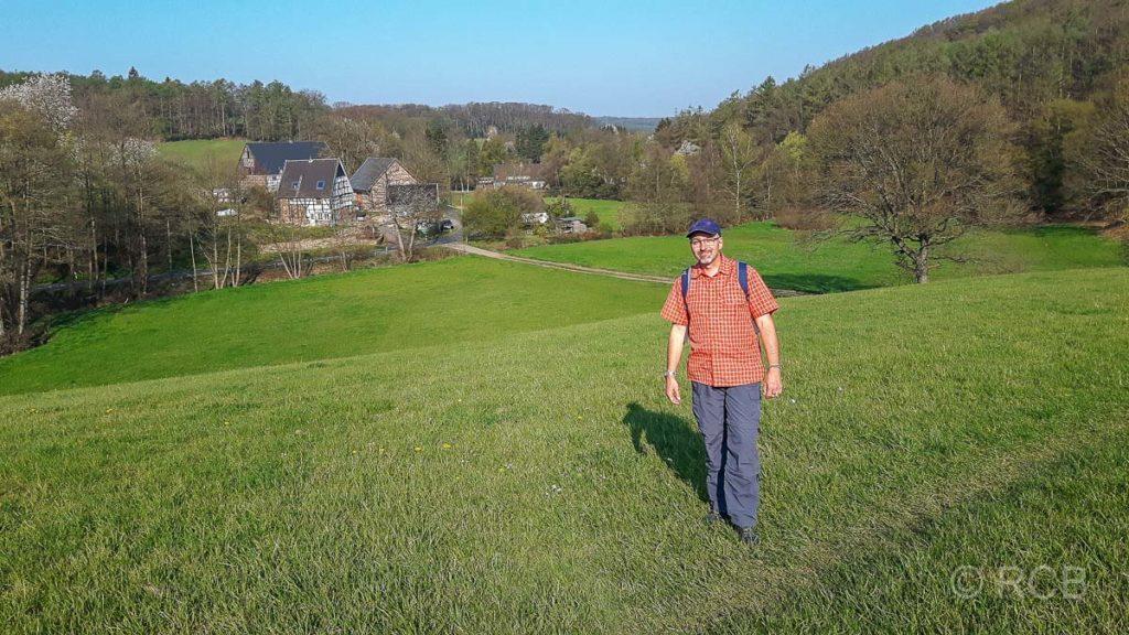 Christian in der Elfringhauser Schweiz