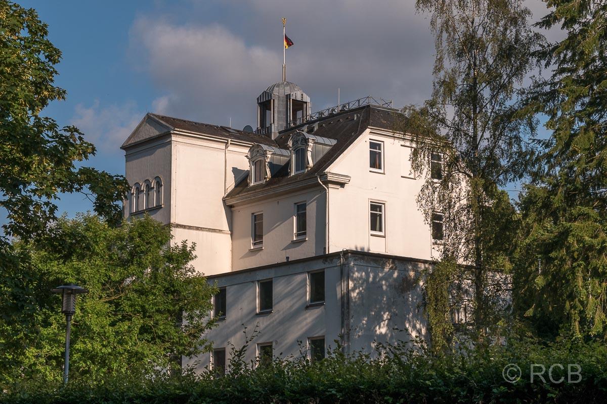 """Das ehemalige Hotel """"Holsteinische Schweiz"""", das der ganzen Region den Namen gab, ist jetzt Immobilie des Landes Schleswig-Holstein und liegt direkt neben unserem Ferienhaus."""