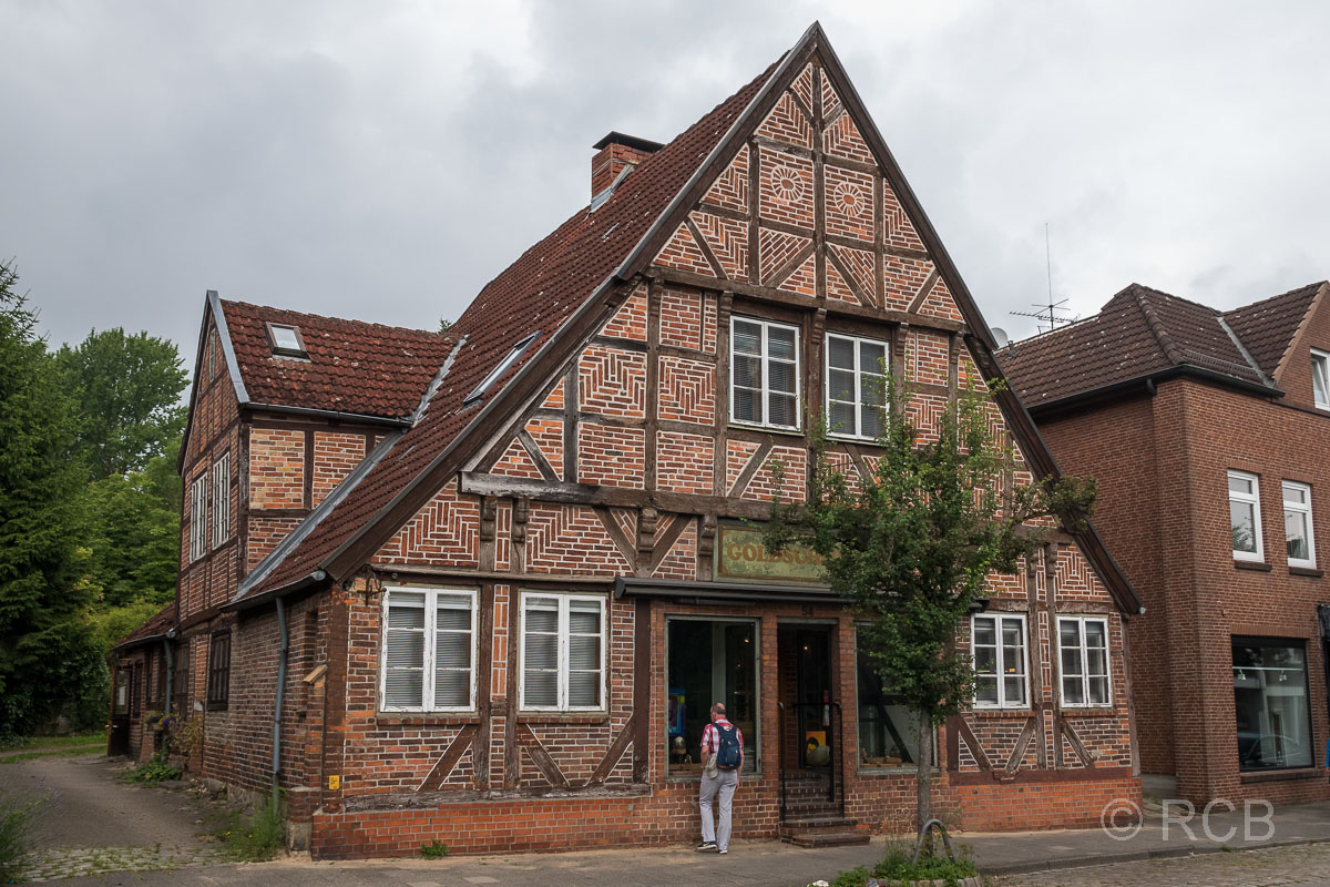 Preetz, Fachwerkhaus in der Kirchenstraße aus dem 18. Jhdt.
