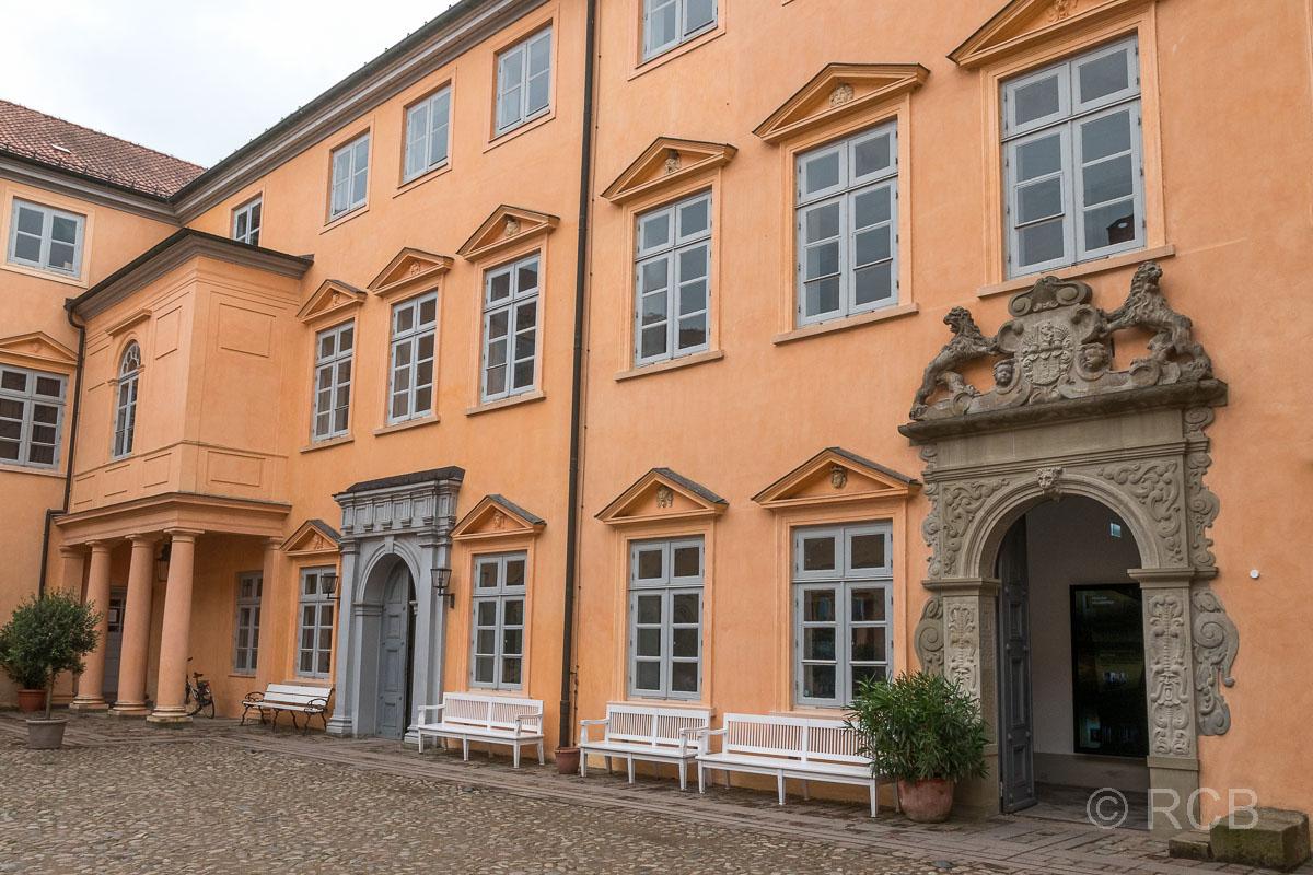 Eutin, Schloss, Innenhof