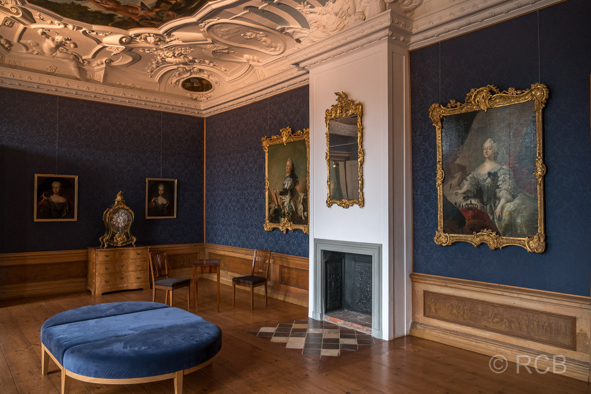 Eutin, Schloss, Europazimmer