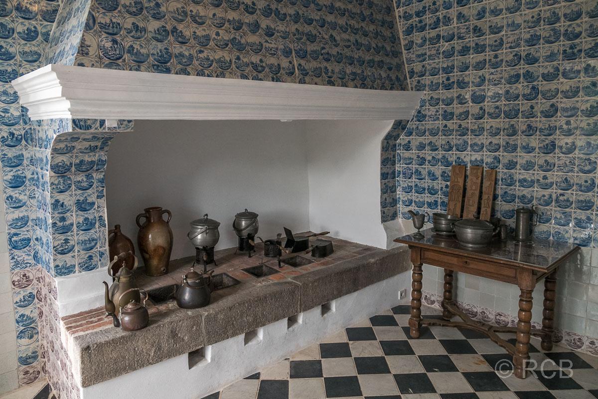 Eutin, Schloss, Kachelküche