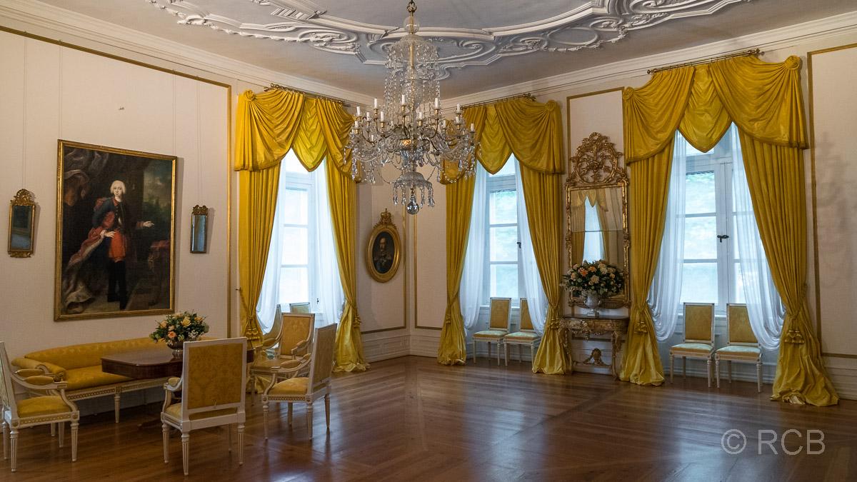 Eutin, Schloss, Gelber Salon