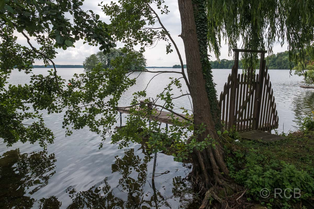 Plön, Uferpromenade am Großen Plöner See
