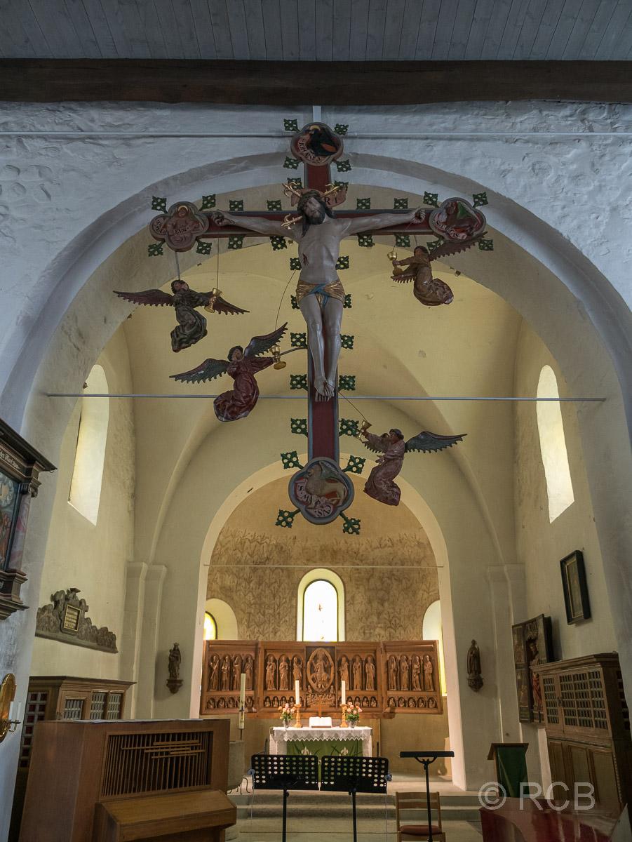 Bosau, Feldsteinkirche St. Petri, Triumphkreuz