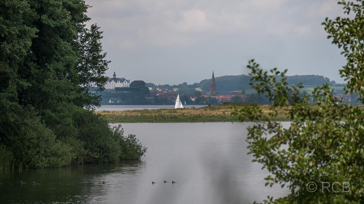 Blick von Bosau nach Plön