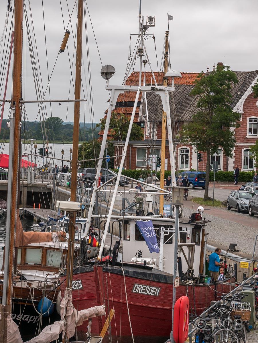 Neustadt in Holstein, Boote im Hafen