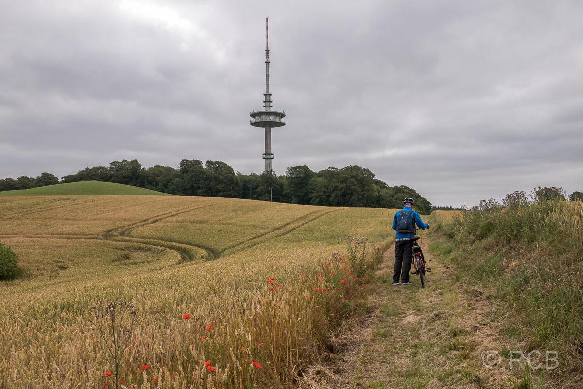 Bungsberg mit Fernmeldeturm