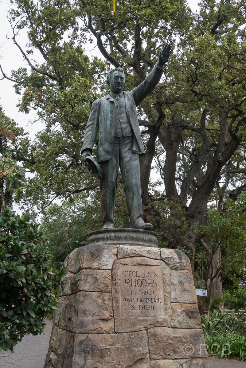 Denkmal für Cecil J. Rhodes, Company's Garden