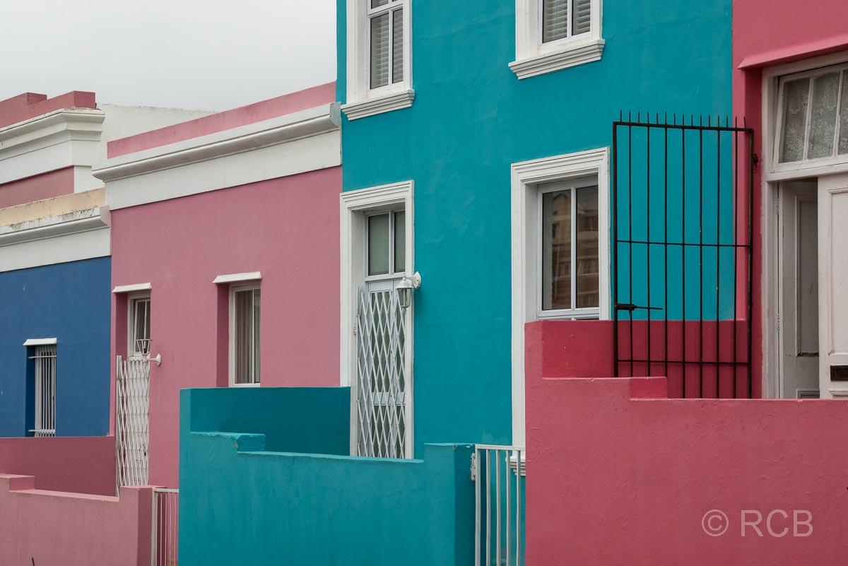 bunte Häuser in Bo Kaap