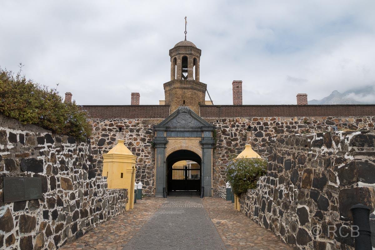 Eingangstor des Castle of Good Hope