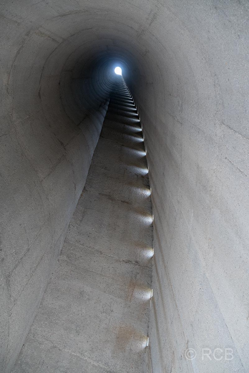 Paarl, Afrikaanse Taalmonument, Inneres des höchsten Turmes