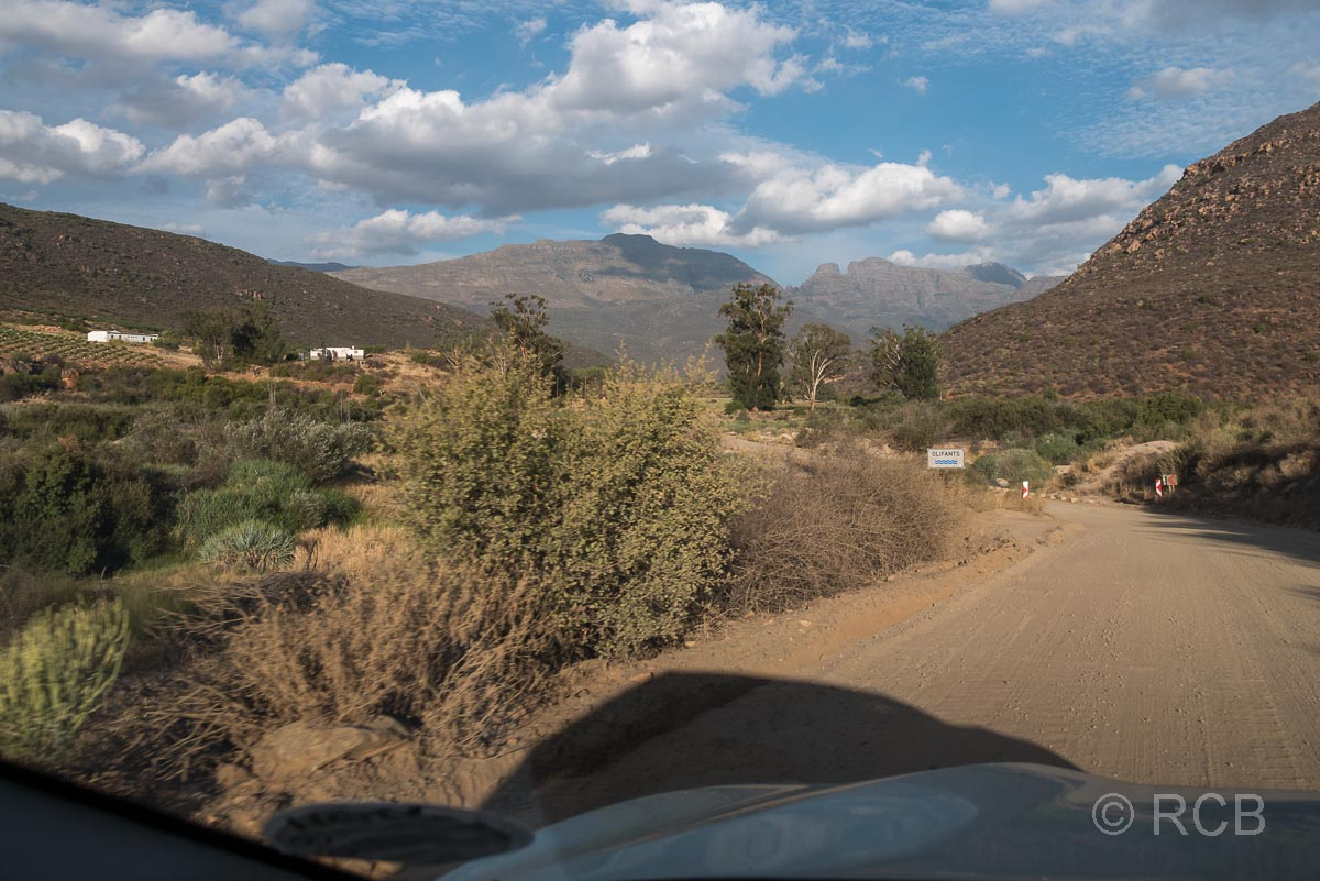 Fahrt in die Cederberg Wilderness Area