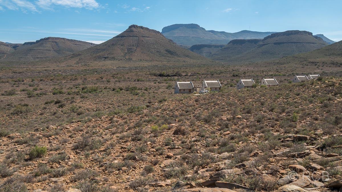Cottages im Karoo NP