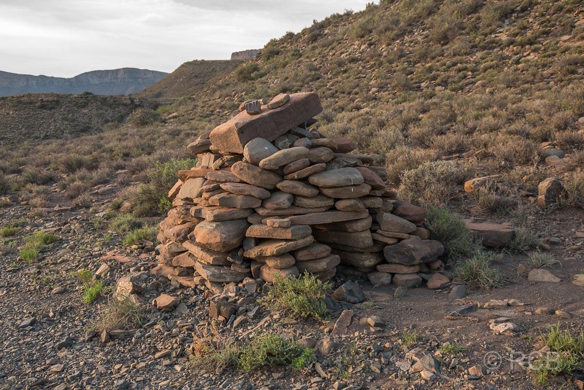 historische Leopardenfalle, Karoo NP