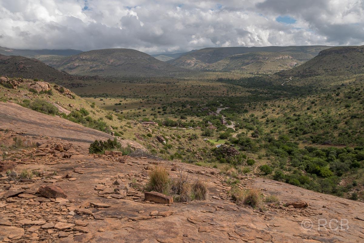 Ausblick vom Black Eagle Trail, Mountain Zebra National Park