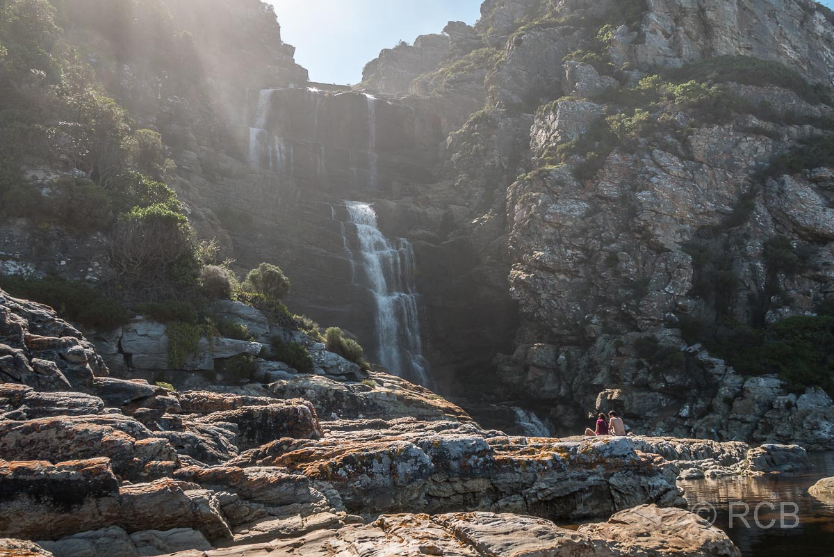 Wasserfall am Waterfall Trail, Tsitsikamma Section des Garden Route National Park