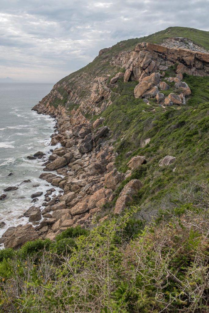 Nordküste der Robberg Peninsula