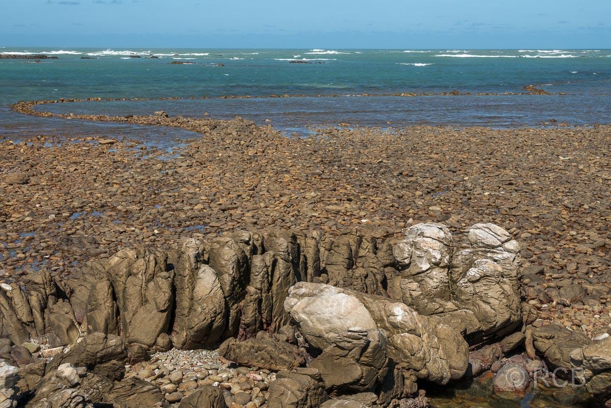steinzeitliche Fischfallen der Khoi, Rasperpunt, Agulhas National Park