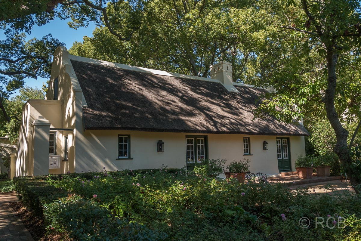 Vergelegen, Haus am Rosengarten