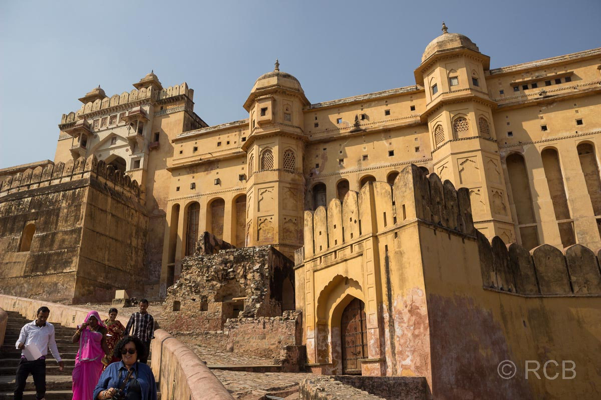 Amber Fort, Aufgang