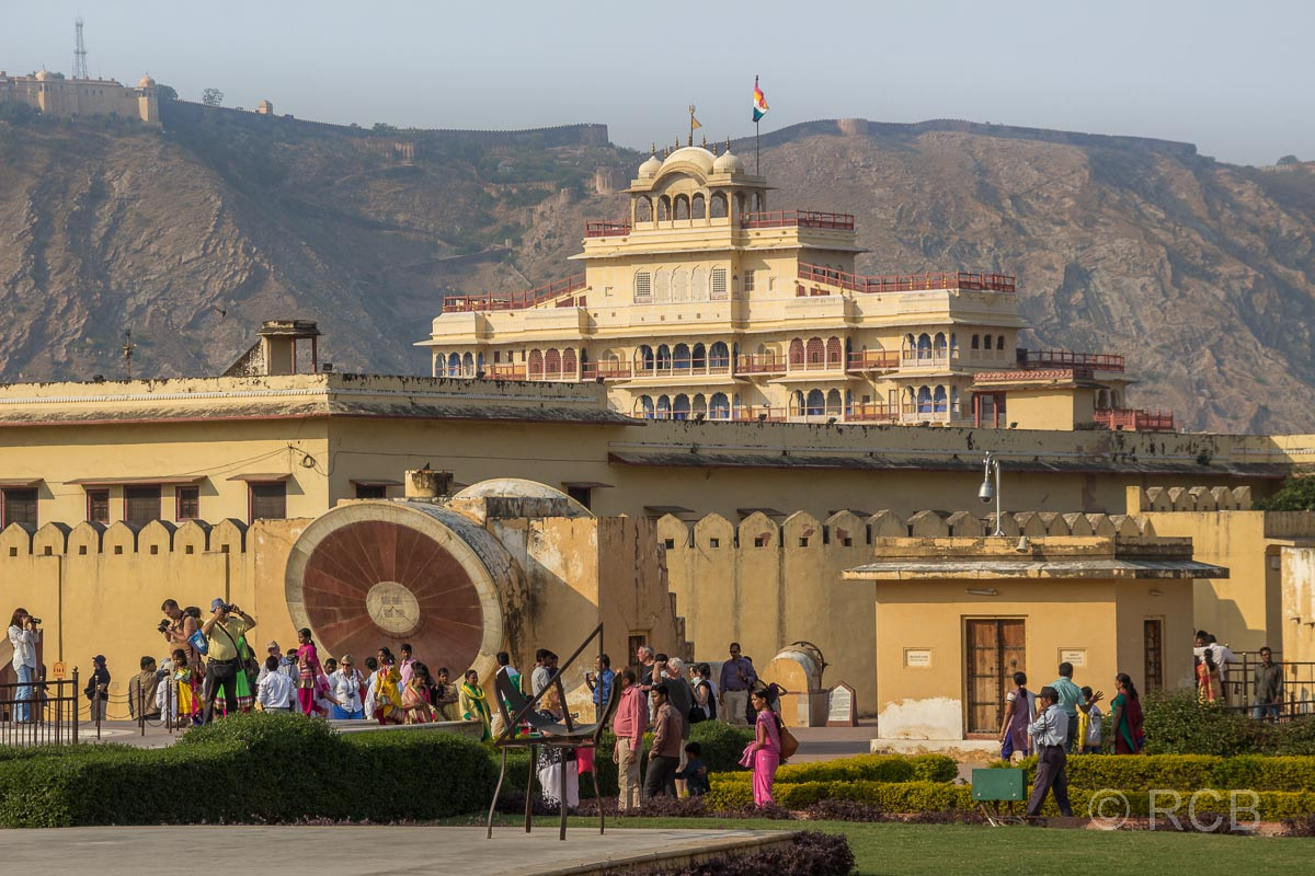 Jaipur, Observatorium Jantar Mantar und Stadtpalast