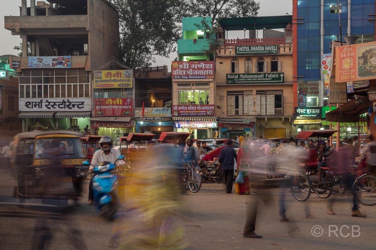 Jaipur, Altstadt, Straßenszene