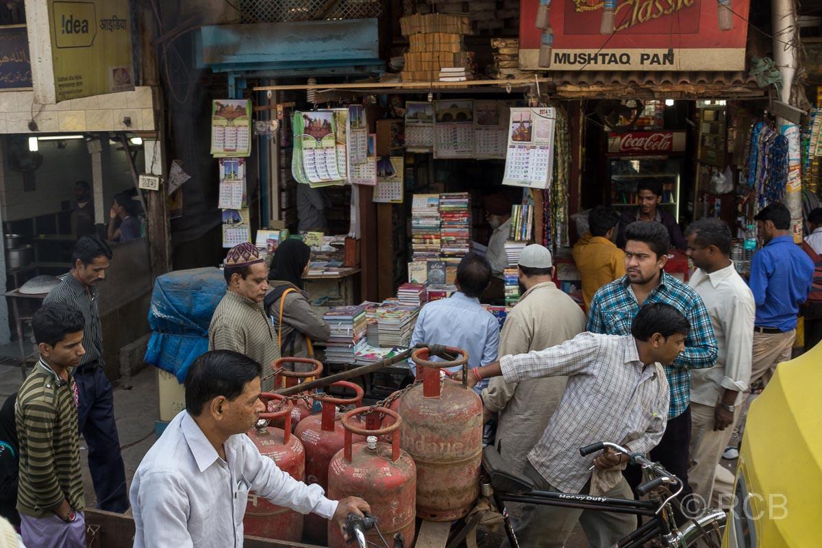 in den Gassen von Old Delhi