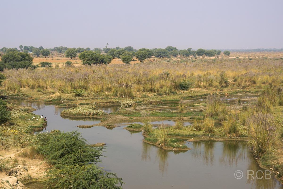 Seen auf der Fahrt durch Rajasthan