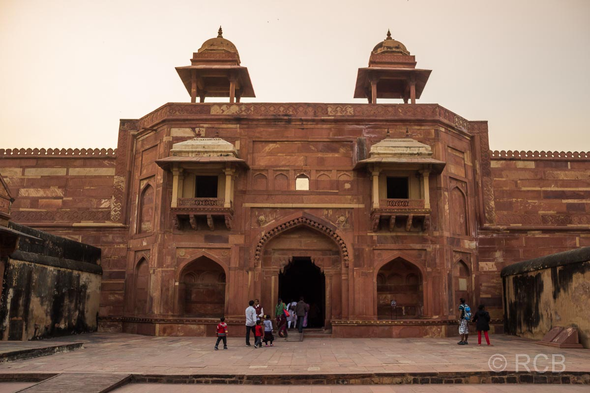 Fatehpur Sikri, Palasteingang