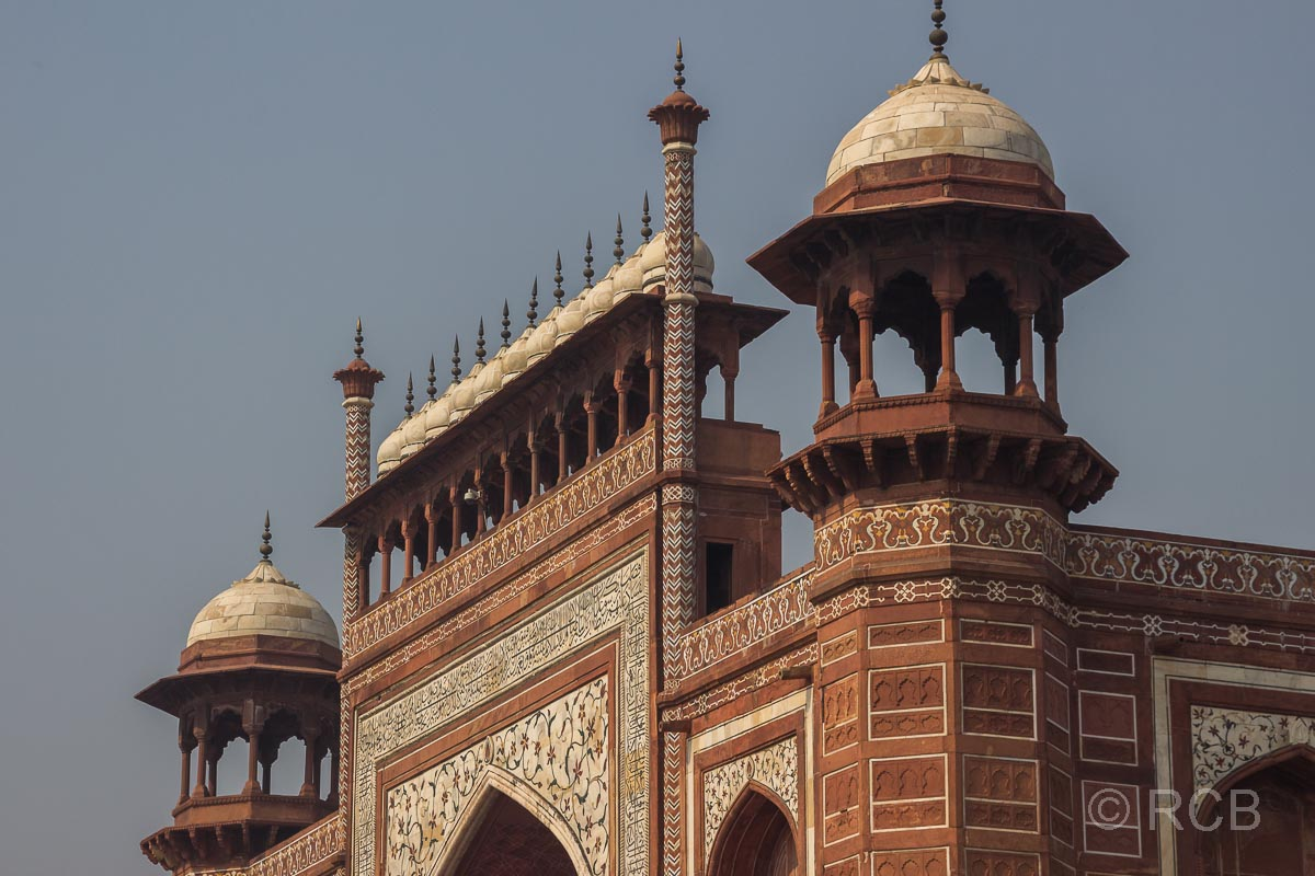 Agra, Taj Mahal, Torgebäude