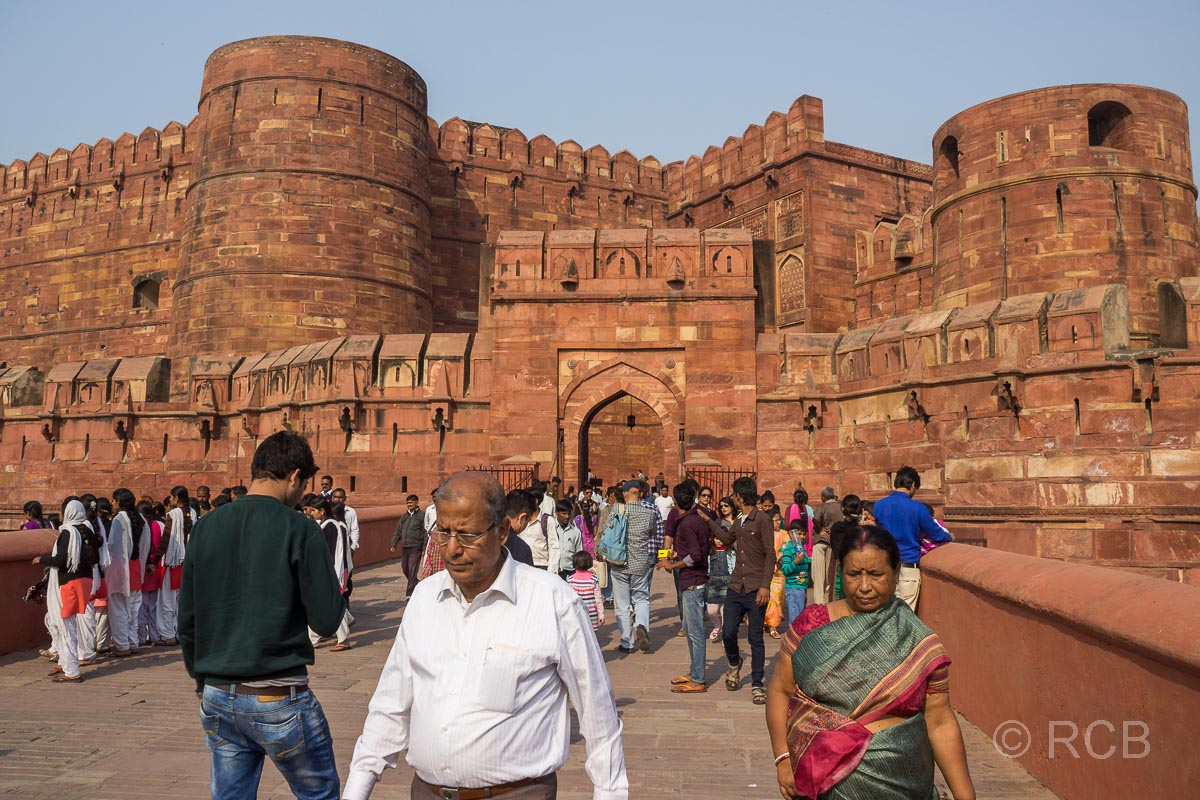 Agra, Rotes Fort, Eingangstor