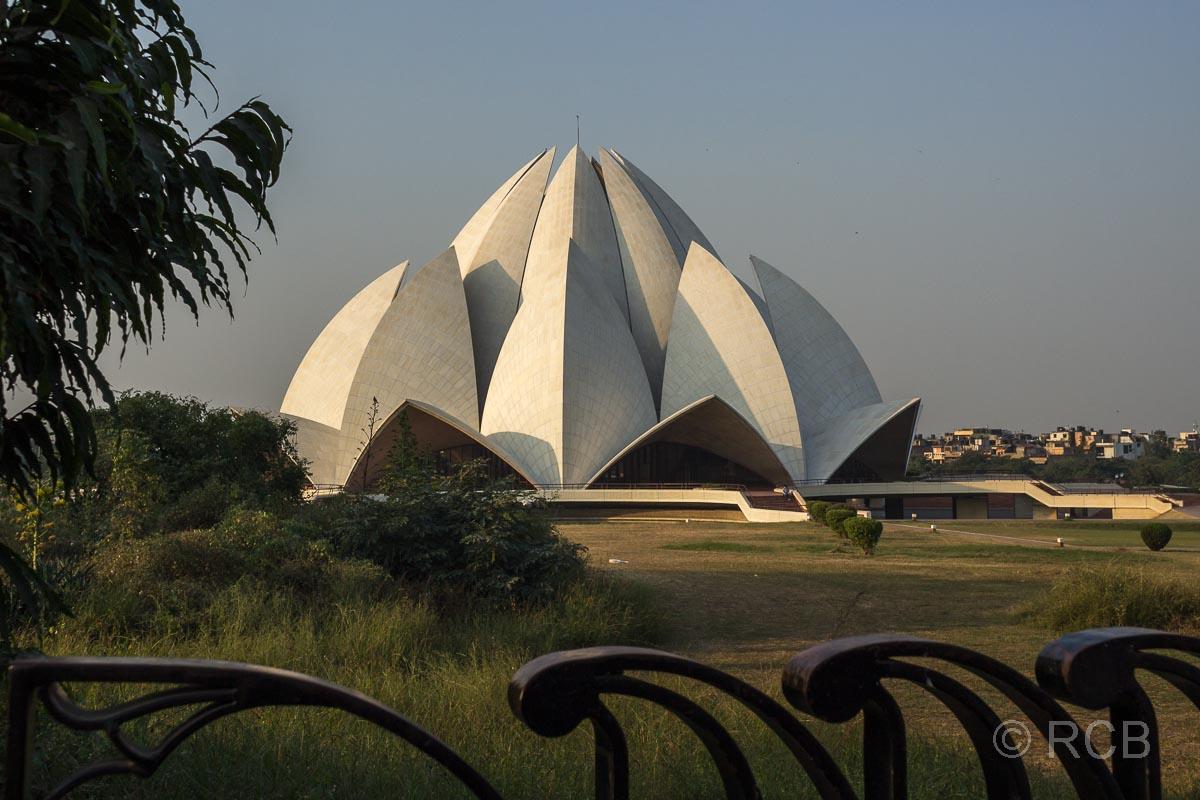 Lotostempel der Bahai, , Delhi