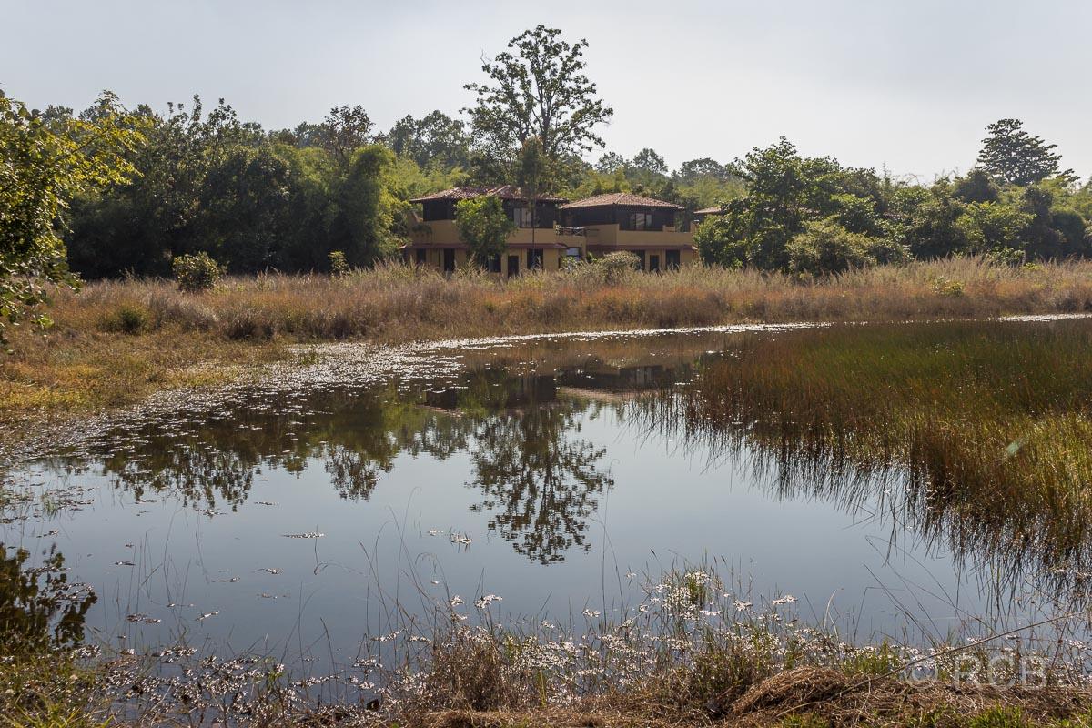 Hotelanlage im Bandhavgarh National Park