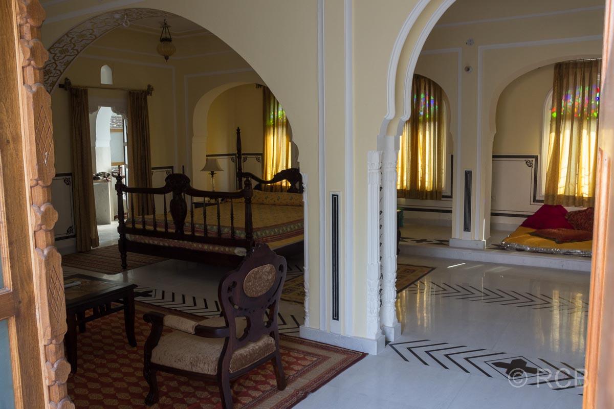 Hotelzimmer in einem Haveli in Jaipur