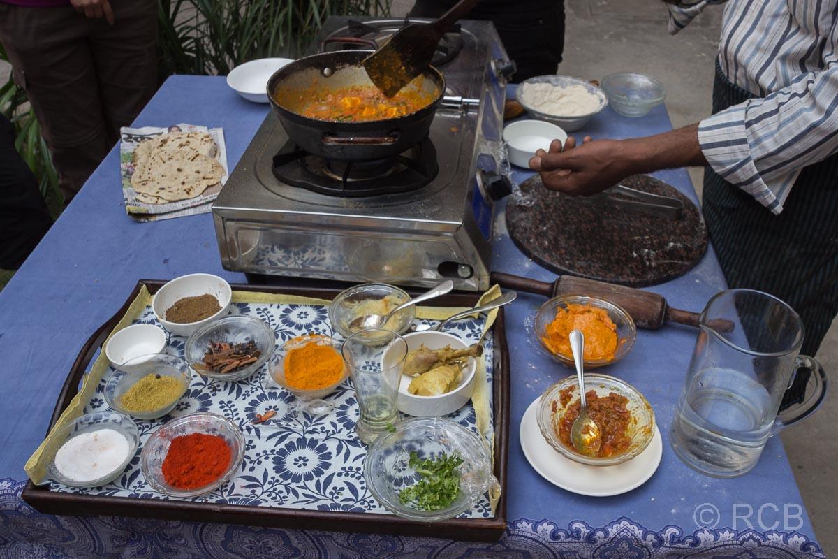 """Kochkurs"" in einem Haveli in Jaipur"